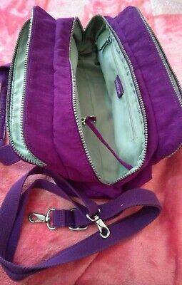 Kipling FOLLO Bag / Purple / Pre-own / VGC / Barely used + Monkey