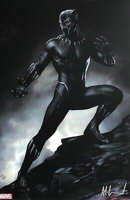 ADI GRANOV rare BLACK PANTHER print 11 x 17 SIGNED MCU movie costume LAST ONE