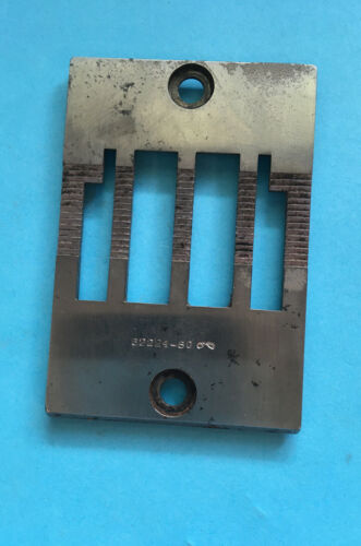 *USED* 62224-80-UNION SPECIAL THROAT PLATE-FREE SHIPPING*
