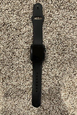 Apple Watch Series 2 38mm Aluminum Case Black Sport Band - (MP0D2LL/A) WITH CORD