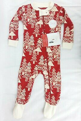 Burts Bees Baby Sleeper 3-6 Months Snug Fit Comfort Stretch Footed Organic