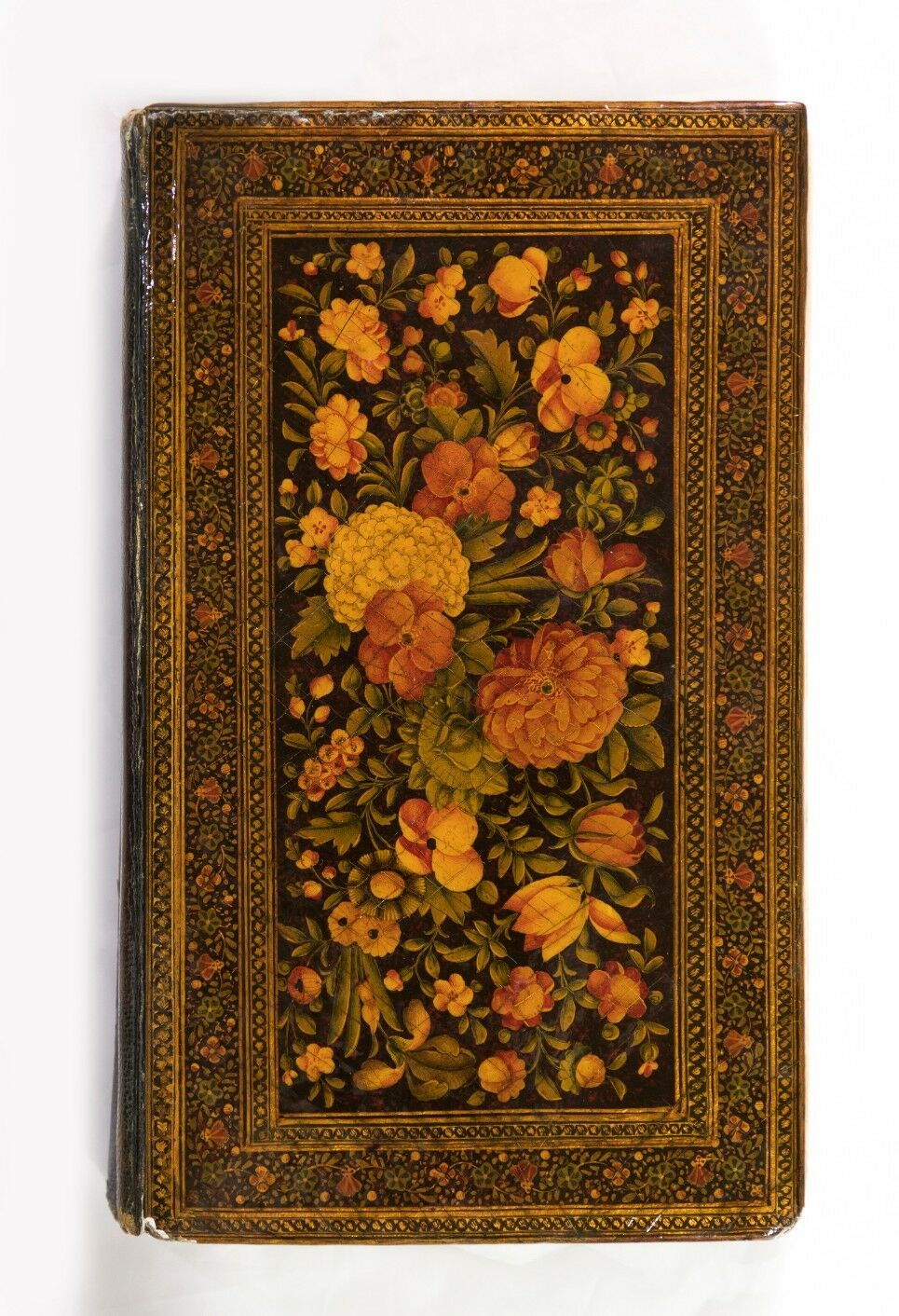 Antique Islamic Persian Manuscript Qajar Koran / Quran with Paper Mache Lacquer