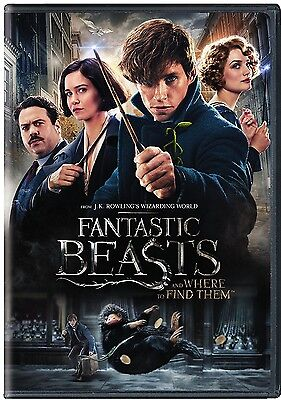 Fantastic Beasts And Where To Find Them  Dvd  2017  New   Sealed