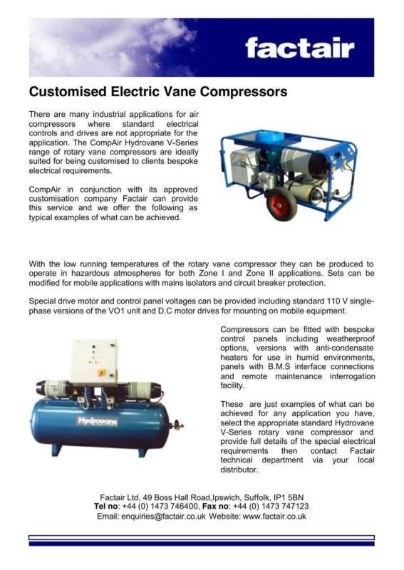hydrovane manual compressors ebay. Black Bedroom Furniture Sets. Home Design Ideas
