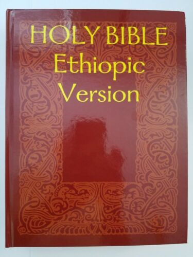 HOLY BIBLE Ethiopic Version - Ethiopian Bible - In English - Hardcover