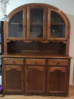 Solid Pine Cabinet USED AS DISPLAY PIECE ONLY Excellent Condition