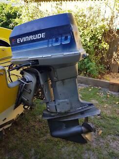Evenrude Outboard Boat Motor