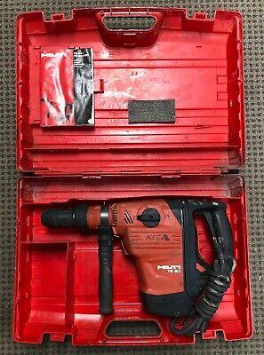 Hilti Te 60 Atc Avr Corded 13 Amp 34 Sds Max Rotary Hammer Drill W Case