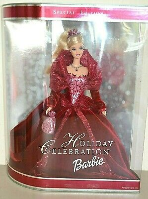 2002 Special Edition HOLIDAY CELEBRATION Blonde BARBIE