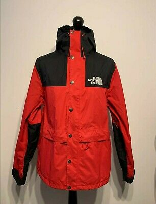 NORTH FACE MOUNTAIN JACKET HIKING HYVENT L HOLOGRAM LABEL USED EXCELLENT WOW