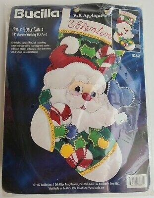 Bucilla Holly Jolly Santa 18