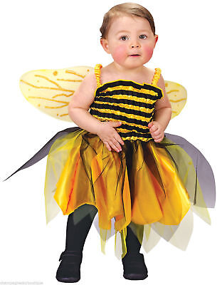 NWT Girls Size Up to 24 Months  * BABY BEE *  Halloween Costume Honey Bumble Bee (Girls Bumble Bee Costume)