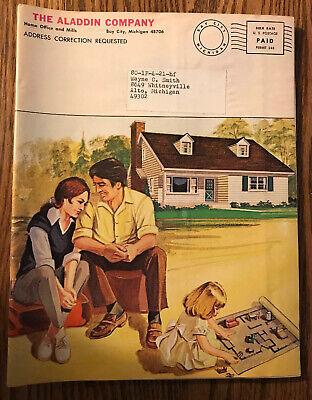 Vintage Aladdin Readi-cut Homes Catalogbasic Blue Prints Pricing1980