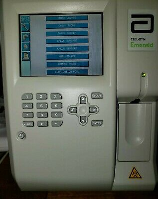 Abbott Cell-dyn Emerald Hematology Analyzer 09h39-01with Barcode Scanner