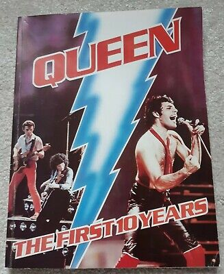 QUEEN: THE FIRST 10 YEARS - BABYLON BOOKS 1981
