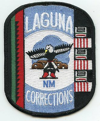 LAGUNA NEW MEXICO NM TRIBAL CORRECTIONS DOC police PATCH