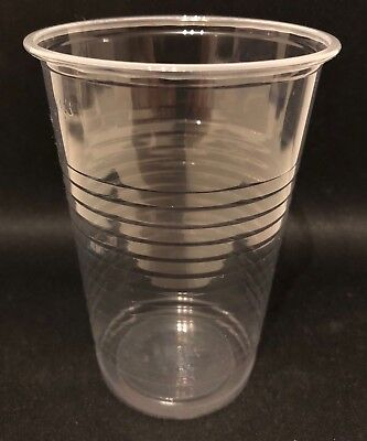 Trinkbecher Ausschankbecher Plastikbecher Einwegbecher PP 300 ml  0,3 l klar  ()