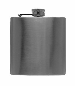 New-6oz-Stainless-Steel-Liquor-Hip-Flask-Screw-Cap