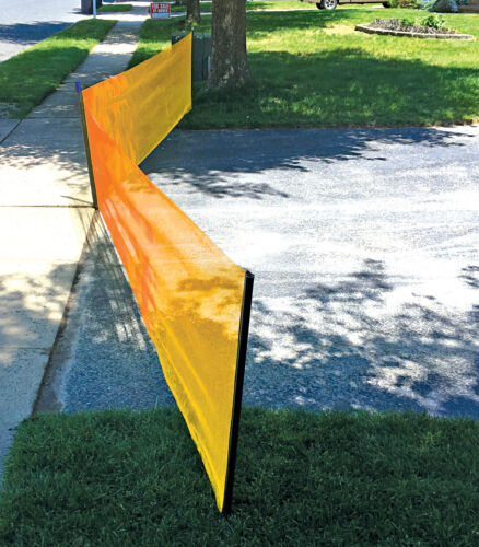 Play-It-Safe Driveway Net Guard Barrier Safety Protection RPDN26