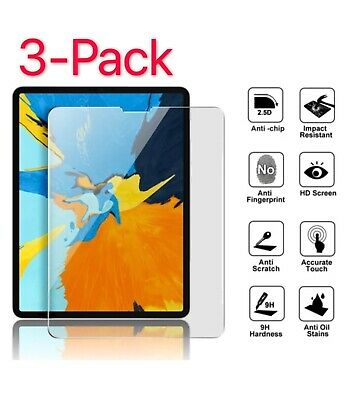 3-Pack For iPad Air 4 (2020) 10.9''/4th Gen HD Tempered Glass Screen Protector