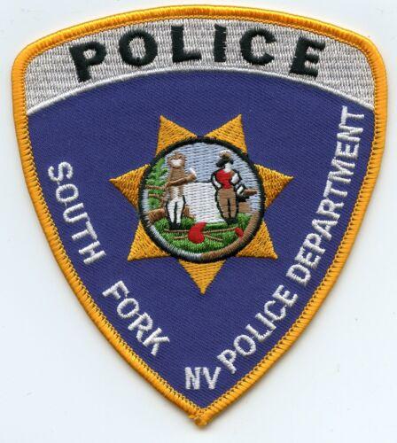 SOUTH FORK NEVADA NV POLICE PATCH