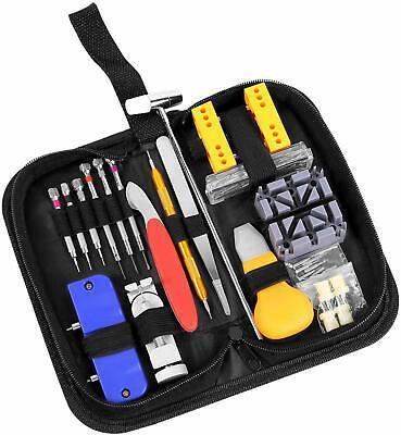Ohuhu 156 PCS Watch Repair Tool Kit, Case Opener Spring Bar Watch Band Link Tool