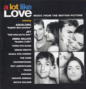 A-Lot-Like-Love-2005-Original-Movie-Soundtrack-13-Track-CD