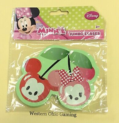 Minnie Mouse Pencils (Disney Minnie Mouse Jumbo Pencil Eraser NEW School)