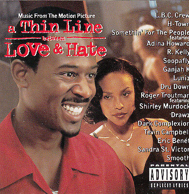 A Thin Line Between Love and Hate-1996-Original Movie Soundtrack-15 Track-CD
