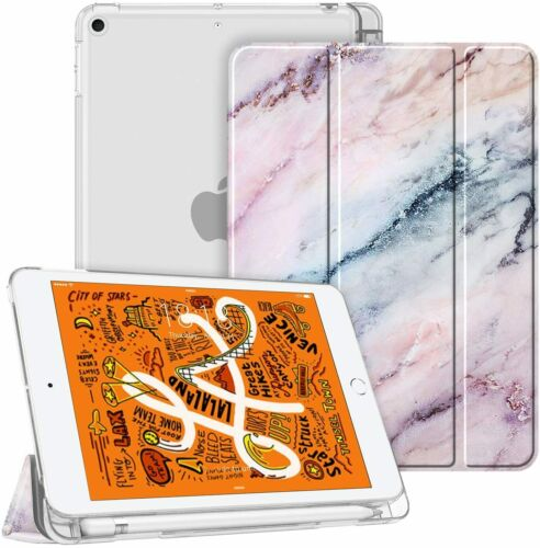 For iPad Mini 5 2019 Slim Shell Case Translucent Frosted Cov