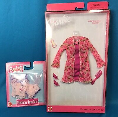 Barbie Fashion Avenue Lingerie Bathtime Chat   Touches Panties  Camisole    Hose