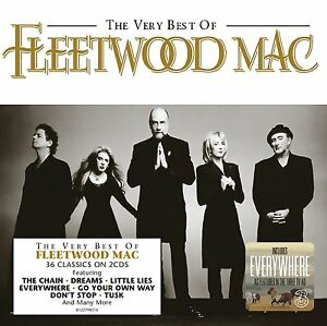 FLEETWOOD MAC: THE VERY BEST OF 36 TRACK 2x CD GREATEST HITS / NEW