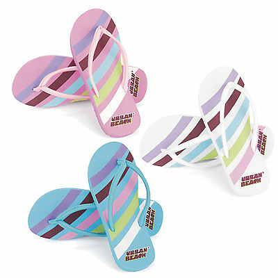 Swoosh Candy Urban Beach Branded Flip Flops Shoes Sandles Women Ladies Breathe