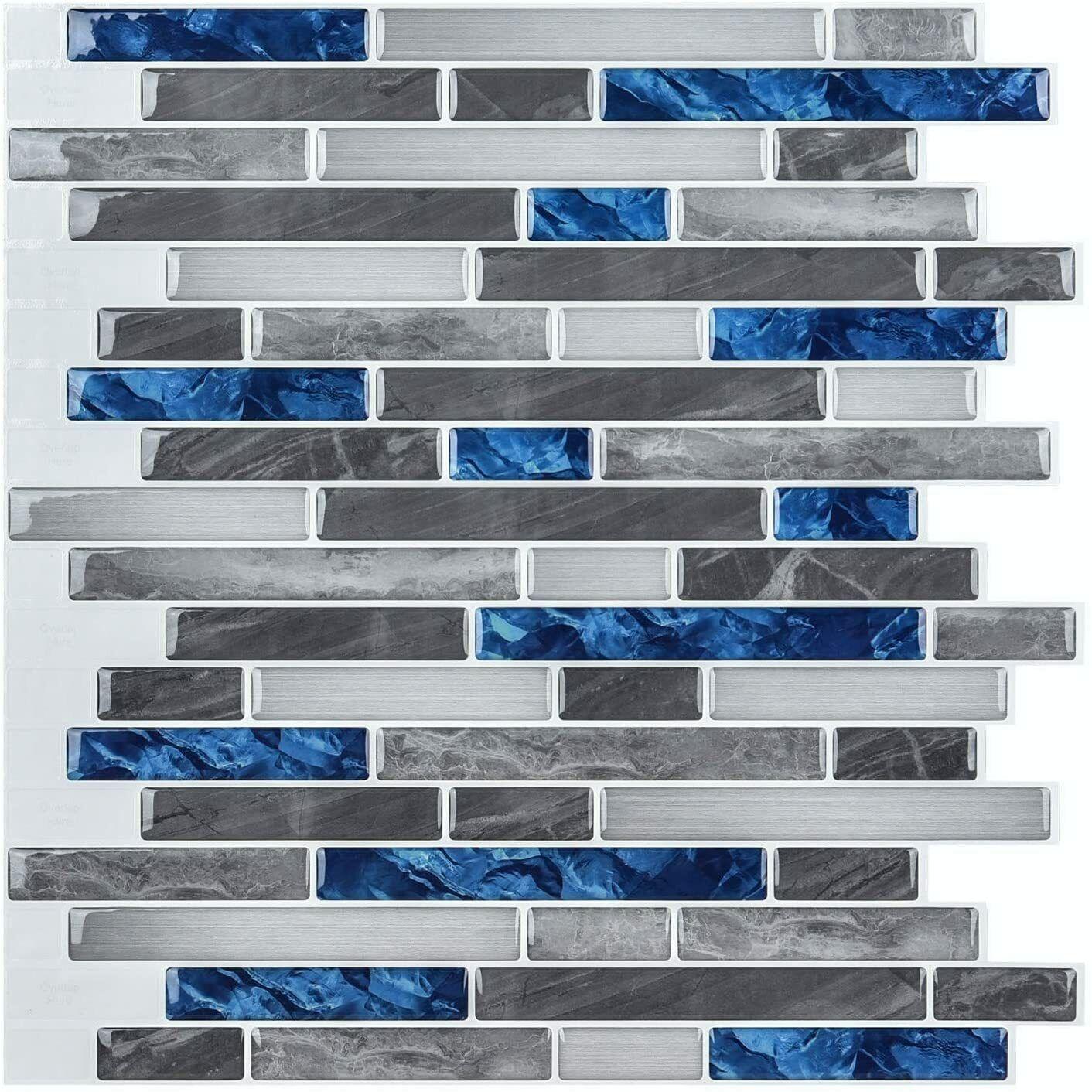 - Self Adhesive Wall Tiles Peel And Stick Backsplash Kitchen