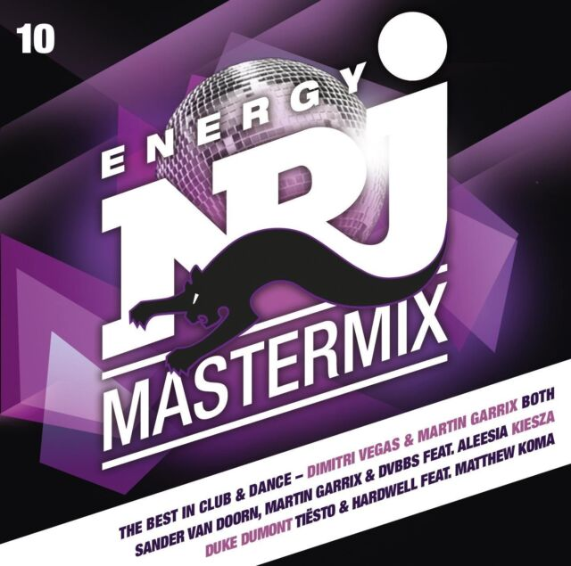 ENERGY MASTERMIX VOL.10 DAVID GUETTA 2 CD NEU