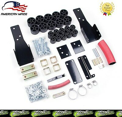 """Zone 2"""" Body Lift Kit 60K Lbs Crush Rating for 98-04 Chevrolet GMC S-10 2WD/4WD"""