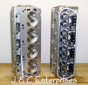 NEW PERFORMANCE 289-302-351W FORD CYLINDER HEADS SBF .500 SPRINGS 195CC INTAKE