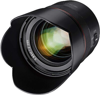 Samyang AF 75mm F1.8 Auto Focus Telephoto Lens for Sony E Mount - SYIO75AF-E