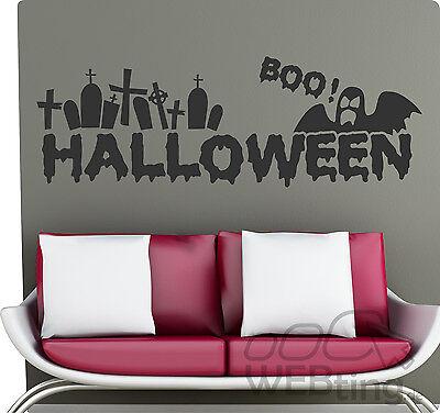 Halloween Geisterhaus Geist Deko Wandtattoo Wandaufkleber Aufkleber Sticker Hexe
