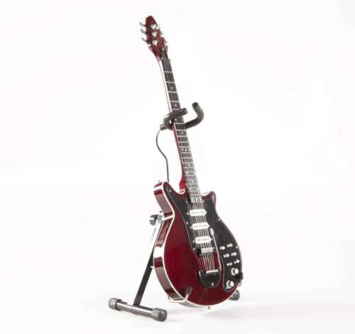 Axe Heaven Brian May Queen Signature Red Special Miniature Collectible Guitar