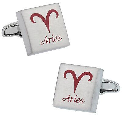 Aries Horoscope Cufflinks Direct From Cuff Daddy