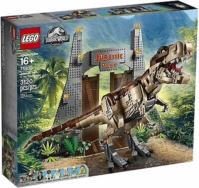 LEGO Jurassic World Jurassic Park: T. rex Rampage Set (75936)