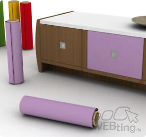 3 m pellicola per mobili colorata plotter adesiva colore a scelta esempio lilla ebay - Carta adesiva per mobili cucina ...