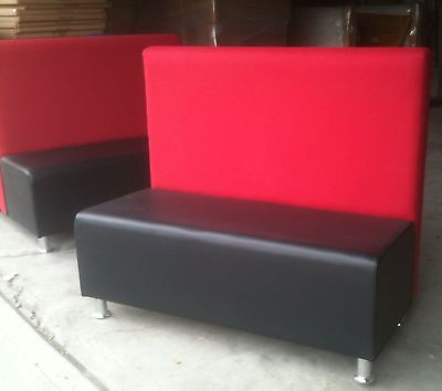 Restaurant Booth With Two Color Singledouble Booths Furniture 4 Sale