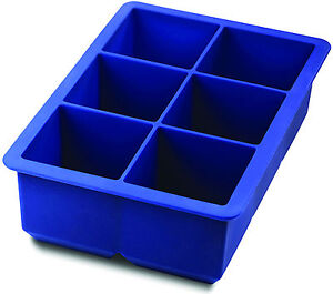 KING-Cube Silicone Ice Tray By Tovolo - Blue