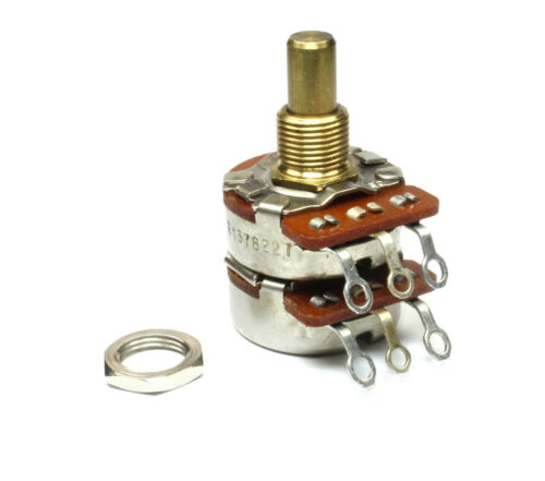 JH Dual 100K Audio Log Potentiometer 100K Ohm Taper