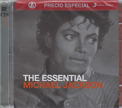 SEALED - Michael Jackson CD NEW The Essential Includes 2 Cd's BRAND NEW !
