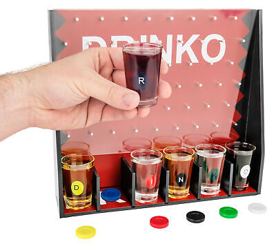 DRINKO DRINKING GAME Funny White Elephant Game Couples Groups Birthday Parties