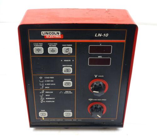 Lincoln Power Feed LN10 Wire Feeder Control Unit Display