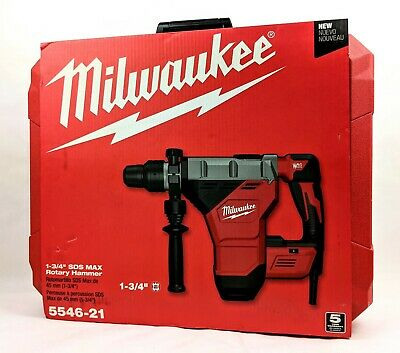 Milwaukee 5546-21 15 Amp 1-34 Sds-max Corded Combination Hammer With E-clutch